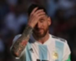 video: exclusive: football: irreplaceable messi vital for argentina - erik lamela