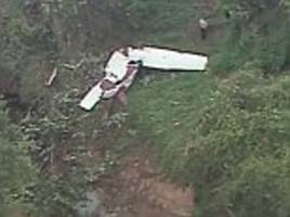 father and son killed when newly-bought plane crashes moments after pilot texted fiance for help