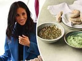 recipe for meghan markle's favourite avocado and green chilli dip from her charity cookbook