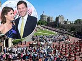 princess eugenie and jack brooksbank royal wedding windsor plans announced