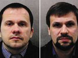 Salisbury Novichok suspects 'were detained in Netherlands earlier this year'