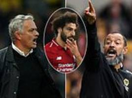 liverpool star mo salah may vent frustration on southampton as mourinho faces his compatriot