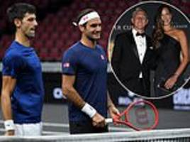 roger federer and novak djokovic to team up for laver cup as schweinsteiger attends opening night