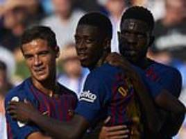 spanish fa 'rejects request' for barcelona match to be played in miami