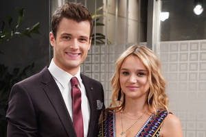 'the young and the restless': hunter king's role temporarily recast