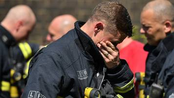 grenfell tower: 'asbestos particles in smoke' could be risk for firefighters