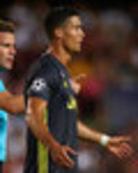 cristiano ronaldo red card: ronaldo confident he will play against manchester united