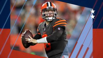 the cleveland browns and star baker mayfield finally get a win