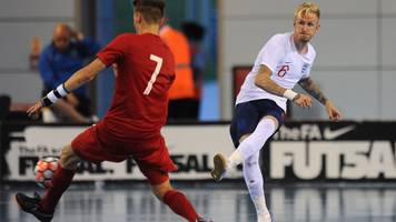 England's futsal team prepare for Croatia test