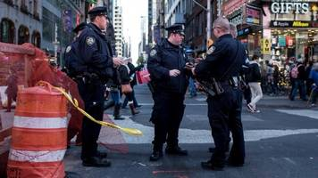 nypd training for nerve agent attacks at un general assembly