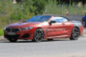 2019 bmw 8-series convertible spy shots and video