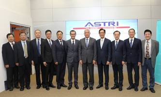 Mr Wang Zhigang, national Minister for Science and Technology, visits ASTRI