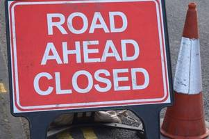 all the road closures in place for the great bristol half marathon
