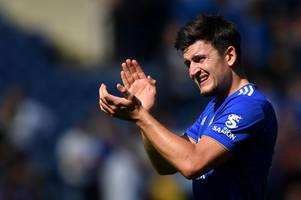 harry maguire needs more protection, says leicester city boss claude puel