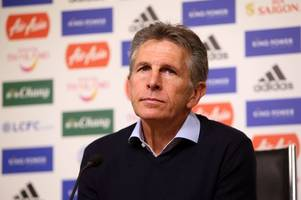 leicester city game against huddersfield is watershed moment for claude puel