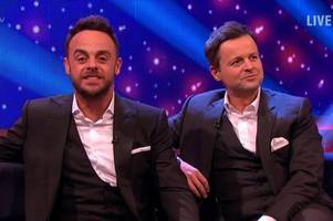 Ant McPartlin breaks Twitter silence with priceless David Walliams response