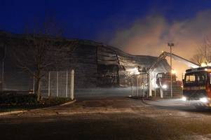 exeter waste centre destroyed in huge fire to rise from the ashes and this is what it will look like