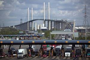 When the Dartford Crossing is closing this week for maintenance works