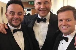 Ant McPartlin returns to social media after David Williams pokes fun on Twitter
