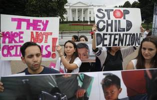 34 immigrant children released to parents while more than 100 remain in custody