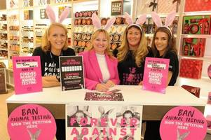 east kilbride mp backs campaign for global ban on animal testing in cosmetics