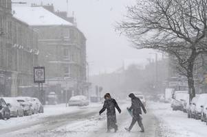 Scotland could be set for FOUR months of snow as forecaster predicts coldest winter in a decade to top Beast from the East