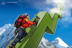 cryptocurrency markets continue resurgence as ripple claims 68 percent weekly gains