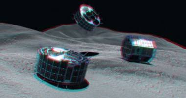 A Pair of Japanese Robots (Hopefully) Just Landed on an Asteroid