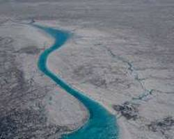 study links natural climate oscillations in north atlantic to greenland ice sheet melt