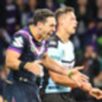 nrl: shoulder charge leaves billy slater in doubt for fairy tale farewell nrl grand final