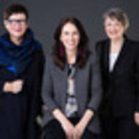 Ardern, Shipley and Clark and how we made that photo