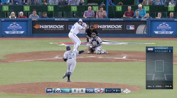 Watch: Justin Smoak Completes Blue Jays' Six-Run Comeback vs. Rays With Walk-Off Home Run