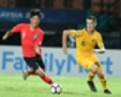clinical koreans put australia the sword in group d opener