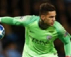 'it was our own fault' - ederson says city players deserve blame for lyon loss