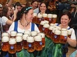 Oktoberfest takes off in Germany with thousands cramming into the popular drinking festival