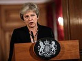 Theresa May told to come up with Brexit Plan B by Cabinet or face resignations