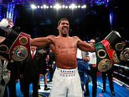 anthony joshua shows is a different breed of fighter after weathering alexander povetkin storm