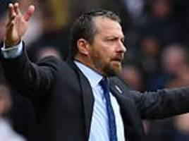 jokanovic says he wanted to make four fulham changes at half-time against watford