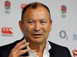 the gain line: eddie jones talks to fa about wags at the world cup