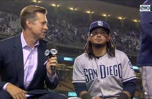 freddy galvis talks about his home run, recent hot stretch after the win