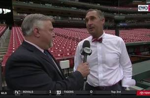 mozeliak on wainwright's dominant start: 'it just shows you how special he is to this organization'