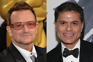 fareed zakaria mocked over meeting with bono to 'understand europe's populism': 'go on clickhole'