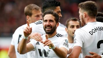 Manchester United 1-1 Wolves: Joao Moutinho earns visitors draw at Old Trafford