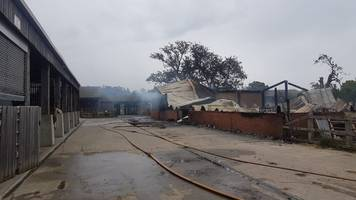 Barn at George Harrison Hindu temple destroyed by fire