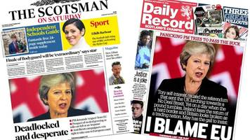 Scotland's papers: Scots legal bid 'could see Brexit halted'