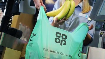 Co-op to replace plastic bags with compostable carriers