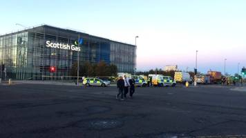 probe into 'chemical incident' at scottish gas building