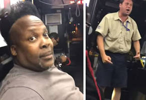 Bus Driver Loses His Sh*t And Has a Breakdown on the Bus