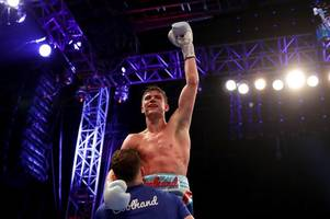 luke campbell earns world title shot with brilliant display to beat yvan mendy