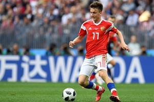 leicester city boss claude puel wanted russia star aleksandr golovin - reports